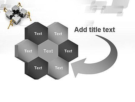 Teamwork Concept PowerPoint Template Slide 11