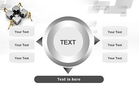 Teamwork Concept PowerPoint Template Slide 12