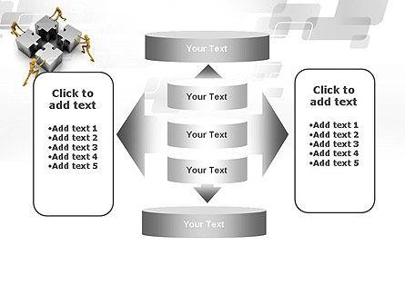 Teamwork Concept PowerPoint Template Slide 13