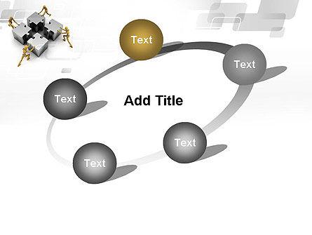Teamwork Concept PowerPoint Template Slide 14
