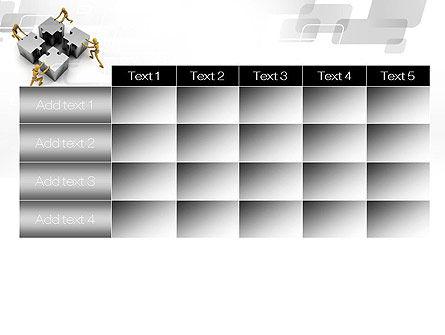 Teamwork Concept PowerPoint Template Slide 15