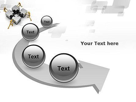 Teamwork Concept PowerPoint Template Slide 6