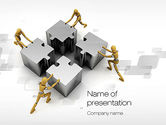 Business Concepts: Teamwork Concept PowerPoint Template #10739