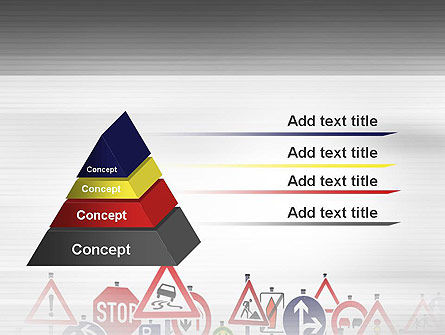 Road Signs PowerPoint Template Slide 12