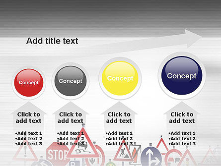 Road Signs PowerPoint Template Slide 13