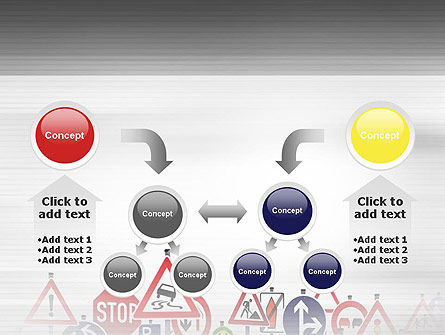 Road Signs PowerPoint Template Slide 19