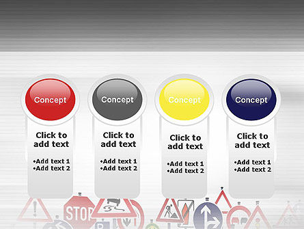 Road Signs PowerPoint Template Slide 5
