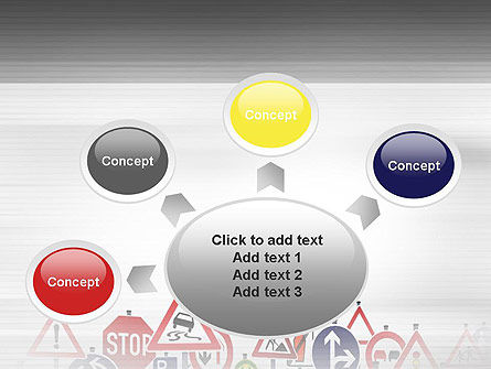 Road Signs PowerPoint Template Slide 7