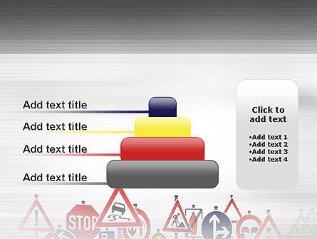 Road Signs PowerPoint Template Slide 8
