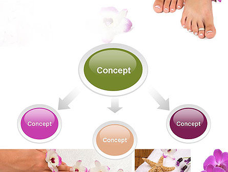 Nail Spa PowerPoint Template, Slide 4, 10744, Careers/Industry — PoweredTemplate.com