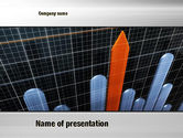 Business Concepts: Chart Trends PowerPoint Template #10753