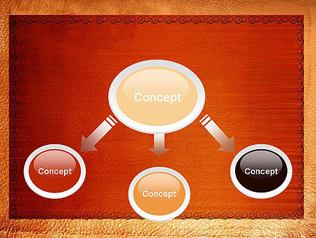 Leather Surface PowerPoint Template Slide 4