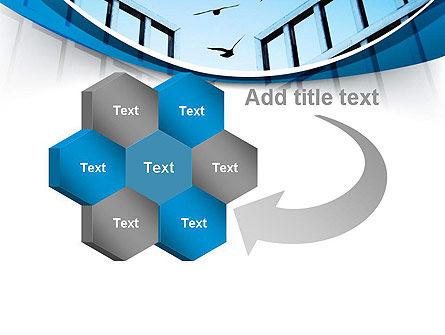 Open Iron Gate PowerPoint Template Slide 11