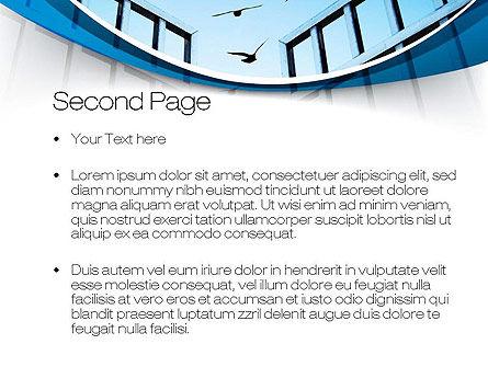 Open Iron Gate PowerPoint Template, Slide 2, 10757, Business Concepts — PoweredTemplate.com