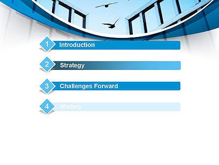 Open Iron Gate PowerPoint Template, Slide 3, 10757, Business Concepts — PoweredTemplate.com