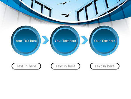 Open Iron Gate PowerPoint Template Slide 5