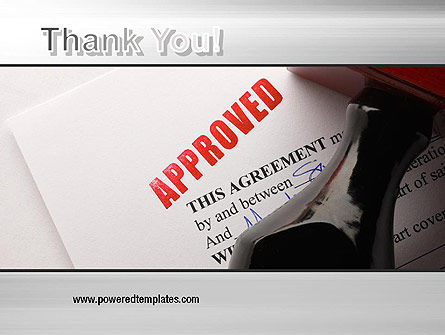 Approved PowerPoint Template Slide 20
