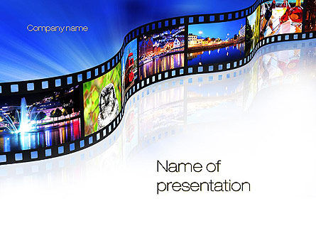 Streaming Media PowerPoint Template