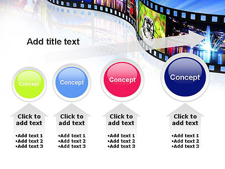 Streaming Media PowerPoint Template Slide 13