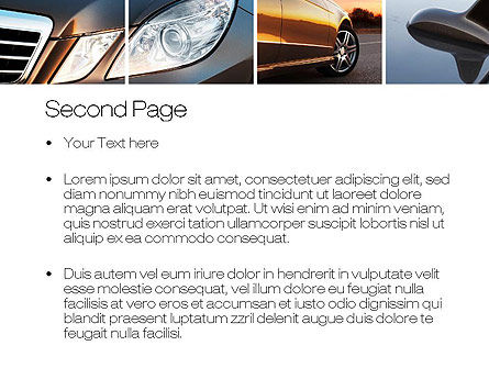 Car Exterior Design PowerPoint Template Slide 2