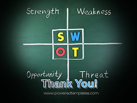SWOT Analysis PowerPoint Template Slide 20