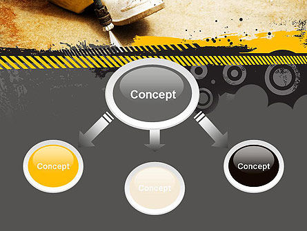 Pressure Washing PowerPoint Template, Slide 4, 10769, Careers/Industry — PoweredTemplate.com