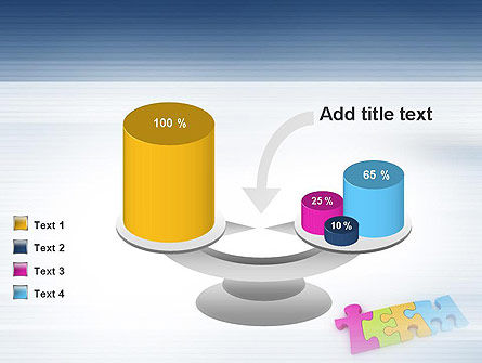 Team Puzzle PowerPoint Template Slide 10