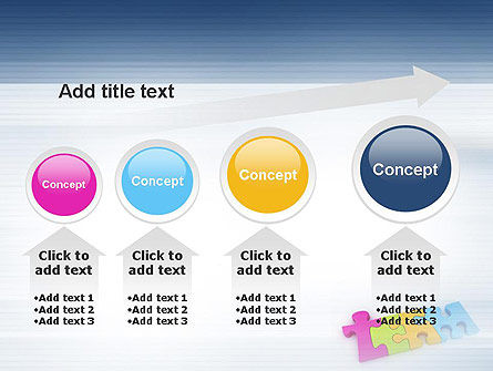 Team Puzzle PowerPoint Template Slide 13