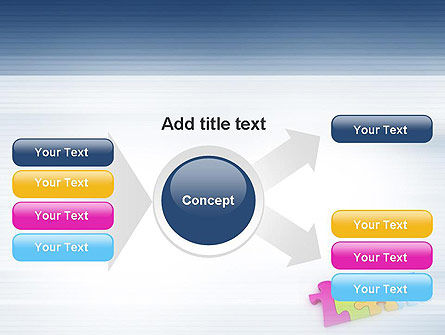 Team Puzzle PowerPoint Template Slide 14
