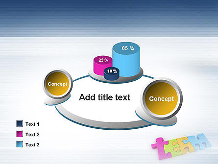 Team Puzzle PowerPoint Template Slide 16