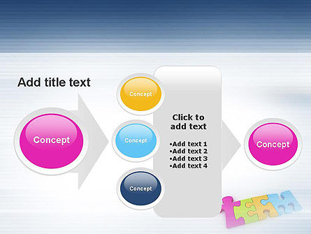 Team Puzzle PowerPoint Template Slide 17