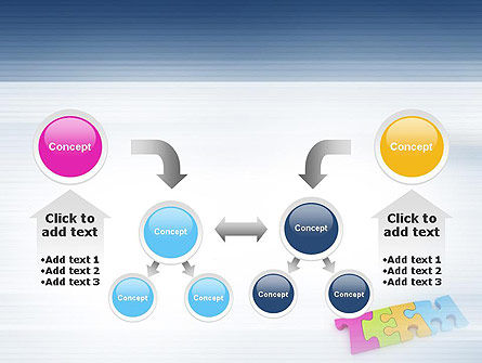 Team Puzzle PowerPoint Template Slide 19