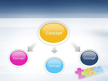 Team Puzzle PowerPoint Template Slide 4