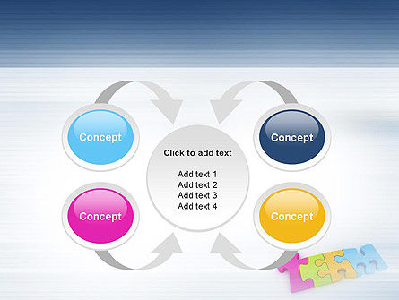 Team Puzzle PowerPoint Template Slide 6