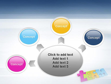 Team Puzzle PowerPoint Template Slide 7