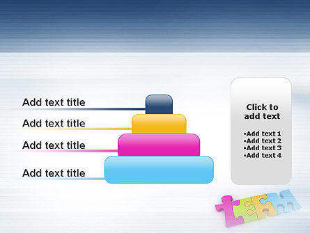 Team Puzzle PowerPoint Template Slide 8