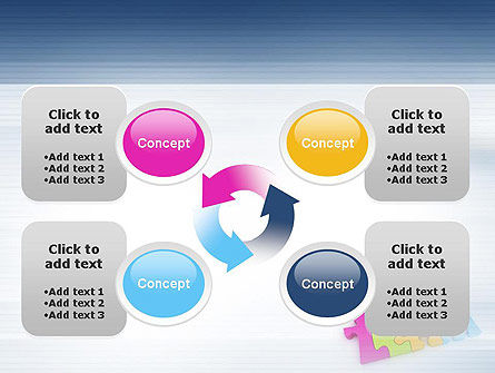 Team Puzzle PowerPoint Template Slide 9