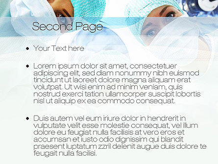 Surgeons PowerPoint Template, Slide 2, 10775, Medical — PoweredTemplate.com