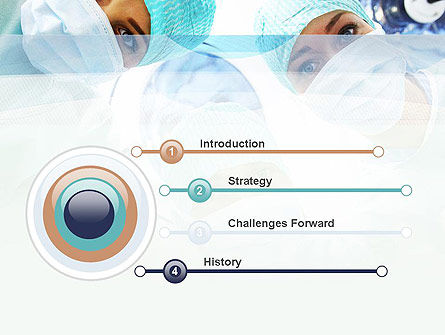 Surgeons PowerPoint Template, Slide 3, 10775, Medical — PoweredTemplate.com
