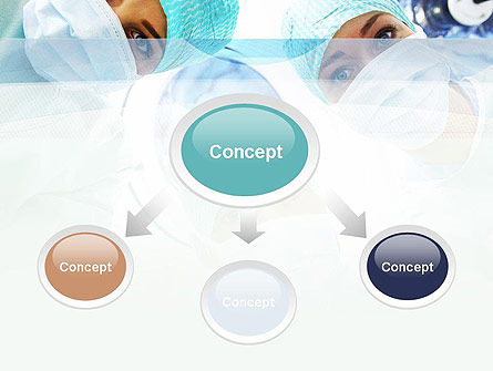 Surgeons PowerPoint Template, Slide 4, 10775, Medical — PoweredTemplate.com