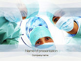 Medical: Surgeons PowerPoint Template #10775
