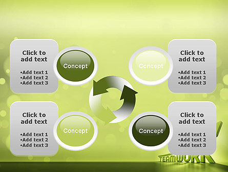 Teamwork Development PowerPoint Template Slide 9