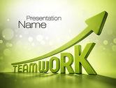 Careers/Industry: Teamwork Development PowerPoint Template #10777