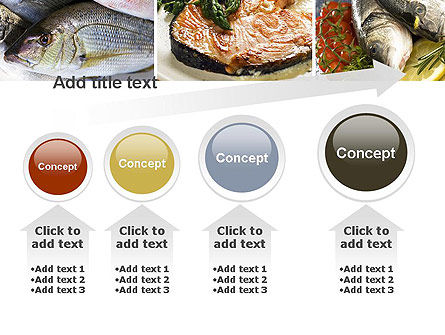 Sea Food Recipes PowerPoint Template Slide 13