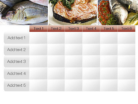 Sea Food Recipes PowerPoint Template Slide 15