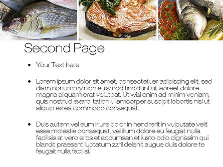 Sea Food Recipes PowerPoint Template Slide 2
