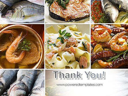 Sea Food Recipes PowerPoint Template Slide 20