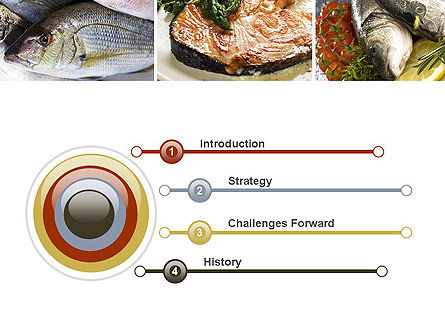 Sea Food Recipes PowerPoint Template Slide 3