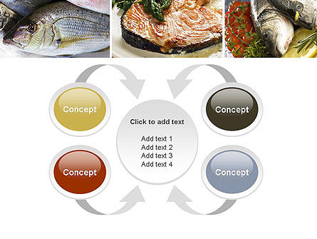 Sea Food Recipes PowerPoint Template Slide 6