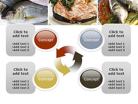 Sea Food Recipes PowerPoint Template Slide 9